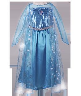 . Красивое платье Эльзы
