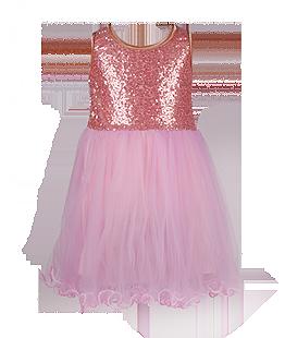 . Нарядное детское платье с хлопковой подкладкой