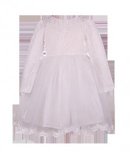 . Нарядное платье для девочки с длинным рукавом