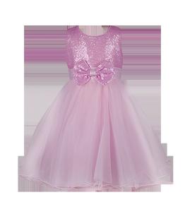 . Нежное детское платье в светло-розовом цвете
