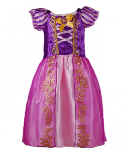 . Карнавальное платье Рапунцель